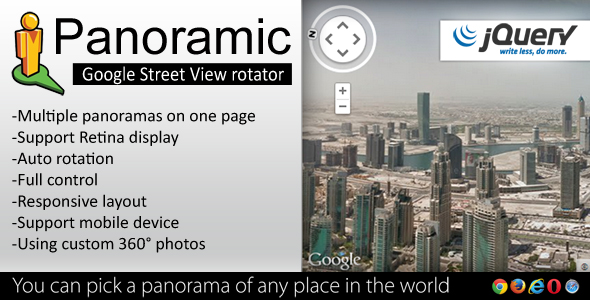 Panoramic js